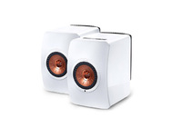 KEF LS50 Wireless Gloss White/ Copper