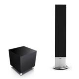 LoeweIndividual Stand Speaker SL + Subwoofer CompactBlack